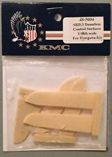 KMC 1:48 SBD-3 Dauntless Control Surfaces for Hasegawa Kit 48-5004