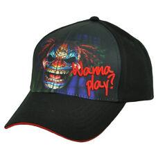 Wanna Play Scary Killer Creepy Clown Sublimated Graphics Hat Cap Adjustable