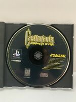 Castlevania: Symphony of the Night (Sony PlayStation 1, 1997) No Case Disc Only