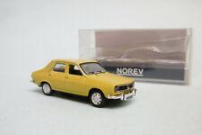 Norev - RENAULT 12 R12 1974 jaune Neuf NBO HO 1/87