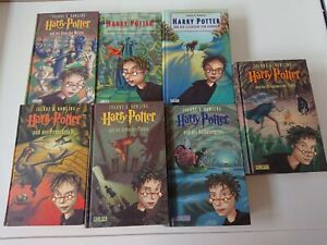 Harry Potter Band 1 - 7 Gebunden, Carlsen