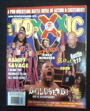 Toxxic WRESTLING 2000 Magazine Goldberg Macho Austin WWF WWE WWWF ECW WCW TNA