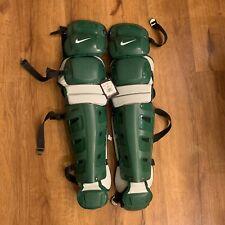 "Nike Baseball Vapor Catchers Shin Guards Green 18"" (Pbp429-335) $350"
