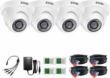 ZOSI HD 1080p TVI Outdoor 3.6mm Day Night Dome CCTV Security Camera System