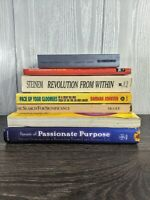 Self-help Book Lot Self Worth, Purpose, Significance+