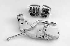 CHROME HAND CONTROLS FOR 2007 AND LATER XL HARLEYS (627709) DUAL DISC FITMENT