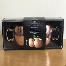 Moscow Mule Mugs, Set of Two, Stainless Steel, Excellent Pre-Owned Condition