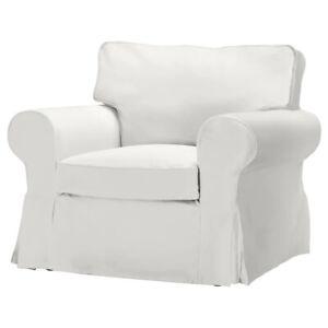 Ikea UPPLAND Cover for armchair COVER ONLY, blekinge white - NEW
