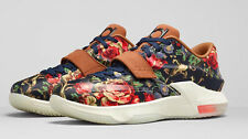 Nike KD VII 7 Floral EXT QS Size 9.5 Kein Durant Aunt Peral 726438 400