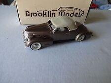Brooklin 1/43 scale  1940 cadillac V16 mint boxed