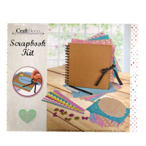 Craft Deco Complete Scrapbook Making Box Set Kit