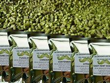 100g Hop Pellets.70 Varieties eg Citra Cascade Fuggles Saaz Mosaic Columbus Brew