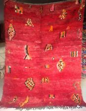 "NUOVO di azilal Marocchino Tribal Rug (#301) 226 x 176cm 7'5""x 5' 9"""