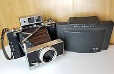 Vintage Polaroid Instant Land Camera Model 180 with Accessories Tested and Works
