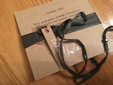 Chan Luu NWT Sterling silver adjustable on leather Semiprecious blue lab bracele