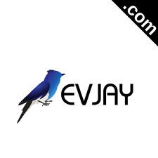 EVJAY.com 5 Letter Short .Com Catchy Brandable Premium Domain Name for Sale