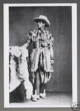 LEWIS BENNETT Deerfoot Indian Photo by George Newbold MODERN POSTCARD