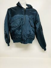 Aviation Flight Garment TYPE TP-909 Blue Oberstoff Flight Bomber Jacket