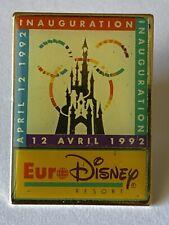 Pins Euro Disney Resort 12 Avril 1992, Inauguration Disneyland Paris