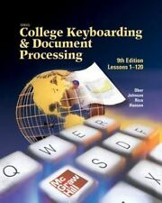 Gregg College Keyboarding & Document Processing, Ninth Edition, Lessons 1-120 (h