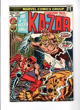 Astonishing Tales #20 VF/NM Last Ka-Zar (Oct 1973, Marvel)
