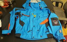 Vintage 90s Mens HELLY HANSEN Equipe Snowboard Ski Waterproof Jacket Coat small