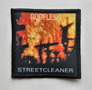 GODFLESH - Streetcleaner - Patch