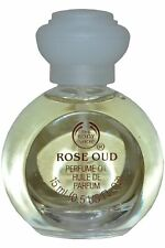 Body Shop Perfume Oil 15ml Rose Oud