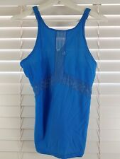 LORNA JANE sz M (or 12 / 8 us ) womens Blue Top [#4510]