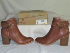 New in Box Eurosoft by Sofft Brown Ankle Boots - Women's Size 8.5 M