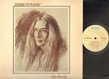 KEN HENSLEY Eager to Please LP 1975 UK Related URIAH HEEP Alfred Heyworth
