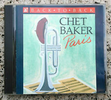 Chet Baker ‎– Back To Back - Paris Etichetta: ITI Records  - -  CD  made in USA