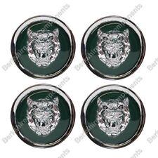 XJ40 Jante en Alliage Badges Vert / Argent (Jeu de 4) MNA6249AB - pour Jaguar