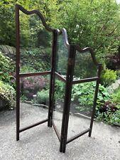 More details for stunning antique glass framed art nouveau style room screen divider/firescreen