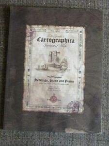Dungeons & Dragons 3.0/3.5 5e D20 Cartographica Journal Of Maps OOP