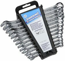 Silverline SP1236 Combination Spanner Set 12-piece 8 - 19mm
