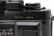 "[Red ""D"" Stamp][Excellent++] Nikon F3 HP Body+MD-4+MF-18+AS-7 From Japan #04011"