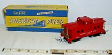 AMERICAN FLYER CABOOSE #638 CAR BOXED POST WAR SHARP