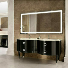 """Upgrade Enlarge Led Lighted Bathroom Mirror w/ Smart Touch Anti Fog 41.3""""x19.7"""""""