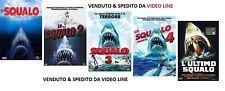 Dvd LO SQUALO 1-2-3-4 + L'Ultimo Squalo - (5 Film Dvd) ......NUOVO