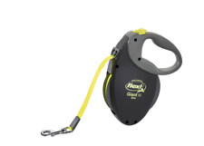 Flexi Giant Retractable Lead Medium Dog Leash Tape 8 M Neon Yellow Upto 25kg