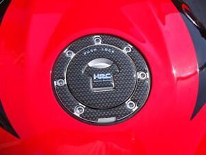 GENUINE OEM 2002-14 HONDA RACING PETROL FUEL LID COVER PAD CARBON FIBRE CBR VFR