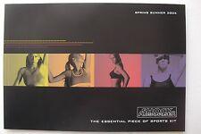 ANNA KOURNIKOVA Spring Summer 2005 SHOCK ABSORBER WOMEN'S ATHLETIC Catalog