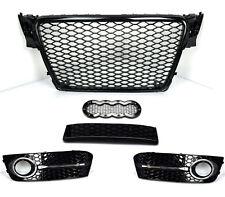 Für Audi A4 B8 RS4 DTM Look Grill Wabengrill Stoßstange Gitter Blende  #g