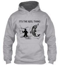 Fishing, Its The Reel Thing - It's Thing! Gildan Hoodie Sweatshirt