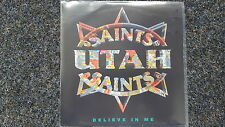 """Utah Saints-Believe in me/What can you do for me UK 7"""" single"""