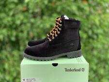 Timberland x Off White Virgil Abloh Black Velvet DS size 12 Supreme Kith Limited