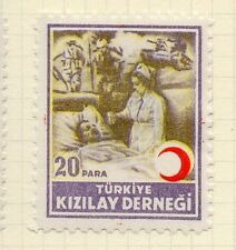 Turkey 1950s Child Welfare Early Issue Fine Mint Hinged 20p. 063122