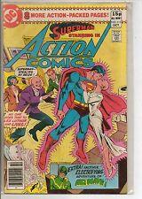 DC Comics Action Comics #512 October 1980 Air Wave VF+