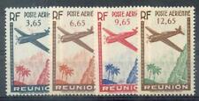 REUNION 1938 Yvert PA 2-5 ** POSTFRISCH SATZ (F1420
